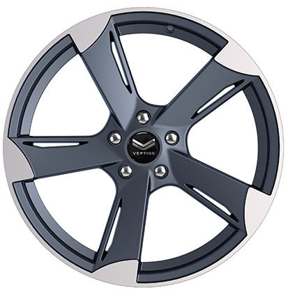 Vertigo V-080 is a 5-spoke classy design alloy rim that gives modern look & perfect fit for Audi A4/A5/A6/TT, BMW 1 & 3 series.Check out our latest rim designs.